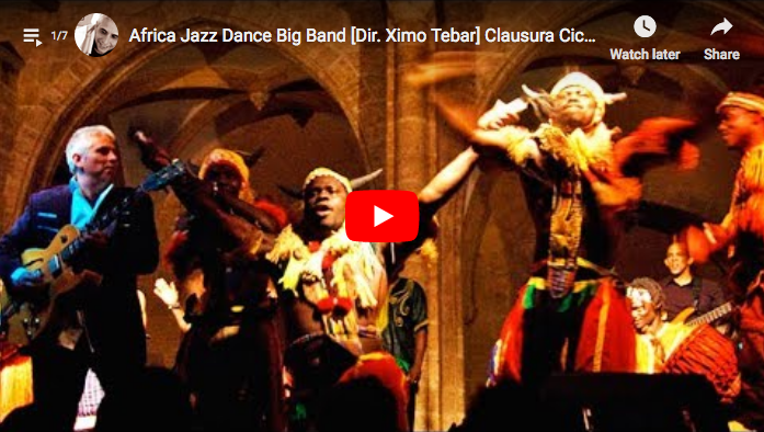 ximo tebar africa jazz dance big band centro cultural del carmen 2010