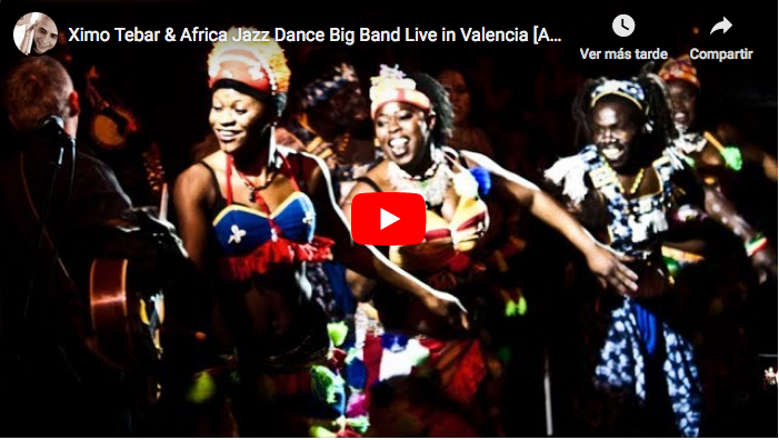 ximo tebar africa jazz dance big band ivam 2009