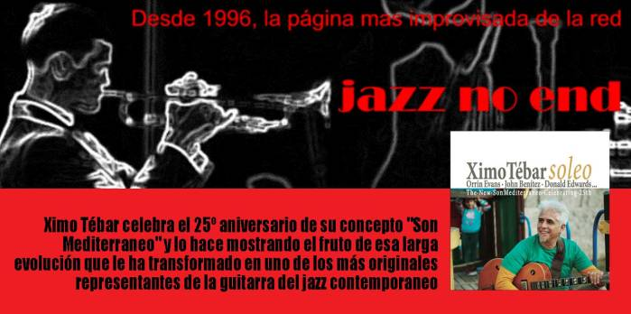 FLYER-JAZZ-NO-END-XIMO-TEBAR-SOLEO