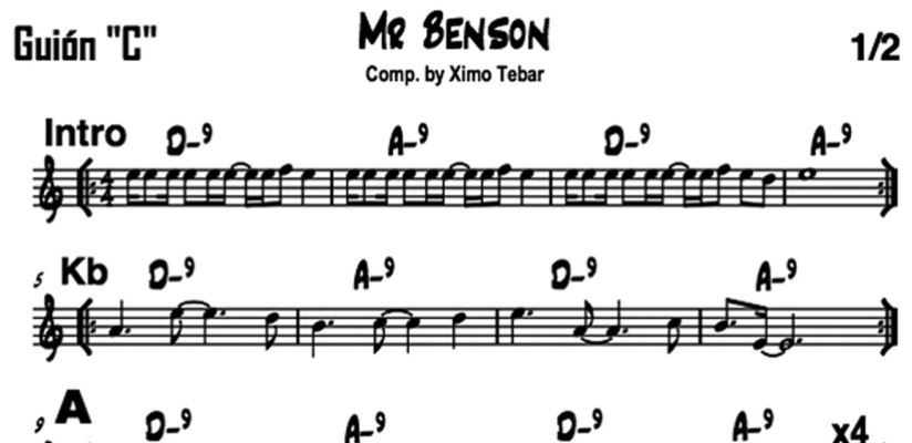 FLYER-PARTITURACHART-MR-BENSON-BY-XIMO-TEBAR