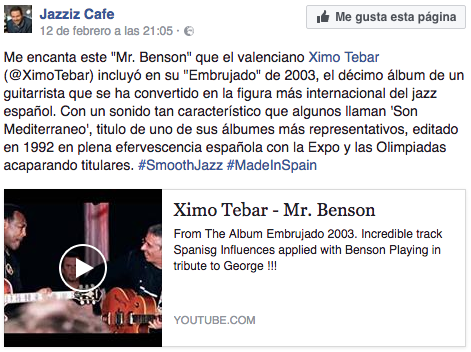 george-benson-tribute-mr-benson-by-ximo-tebar-jazz-download-chart-and-video