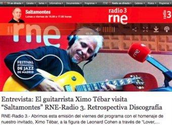 ESCUCHAR ENTREVISTA https://ximotebar.net/2016/11/11/entrevista-guitarrista-ximo-tebar-visita-saltamontes-radio-3/