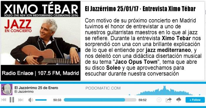 entrevista-ximo-tebar-jazz-radio-enlace-el-jazzerrimo-25-enero-2017