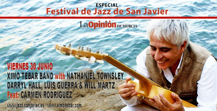 XIMO-TEBAR-JAZZ-SAN-JAVIER-2017-WITH-NATHANIEL-TOWNSLEY,-DARRYL-HALL,-LUIS-GUERRA,-WILL-MARTZ,-CARMEN-RODRIGUEZ