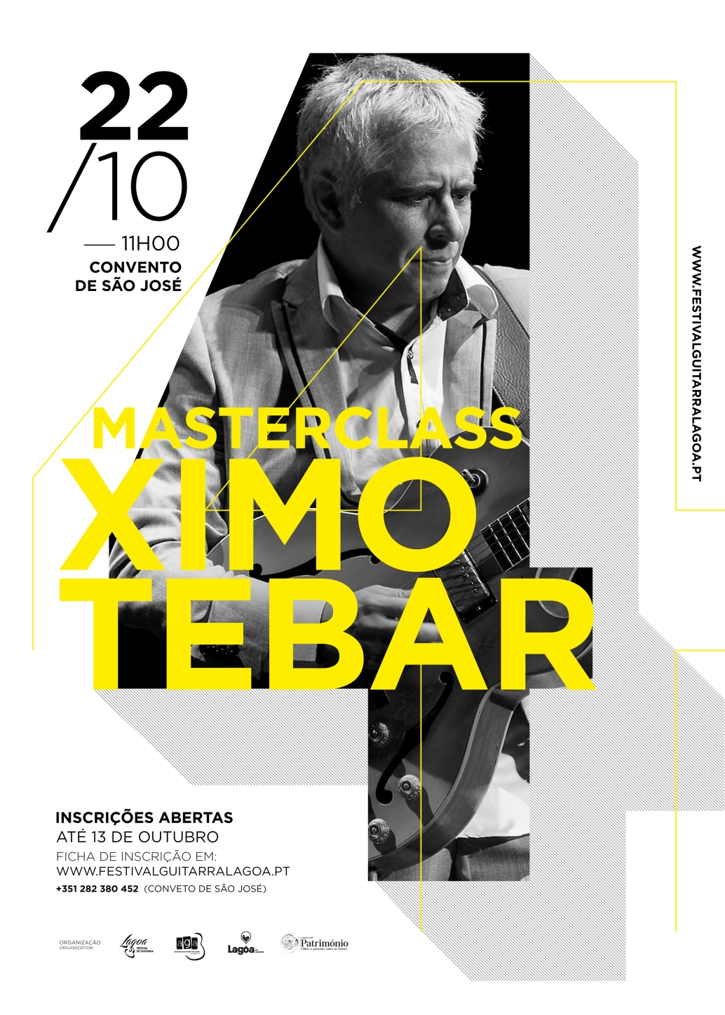JAZZ GUITAR MASTERCLASS XIMO TEBAR LAGOA GUITAR FESTIVAL 2017