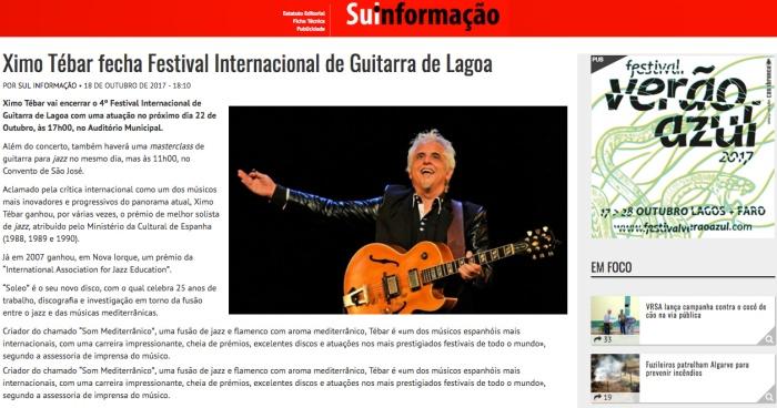 Ximo-Tebar-fecha-Festival-Internacional-de-Guitarra-de-Lagoa-2017