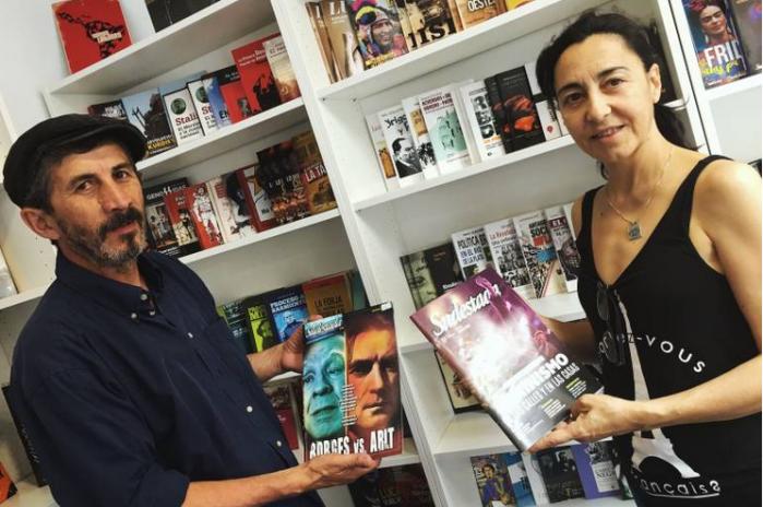 Jorge Díaz e Isabel Gómez, fundadores de Latitud Sur