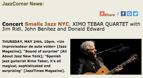 XIMO-TEBAR-SMALLS-JAZZ-CLUB-NEW-YOR-JAZZ-CORNER-NEWS-MAY-2018