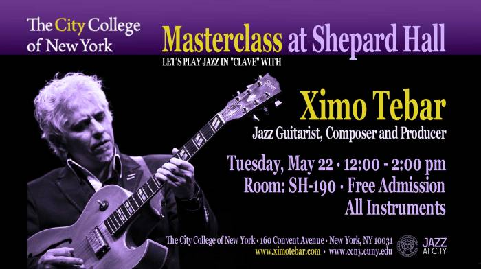 FLYER-MASTERCLASS-XIMO-TEBAR-CITY-COLLEGE-NEW-YORK-MAY-2018