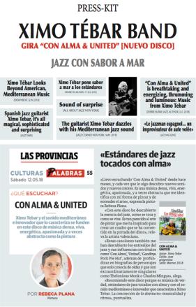 COVER PRESS-KIT XIMO TEBAR CON ALMA & UNITED