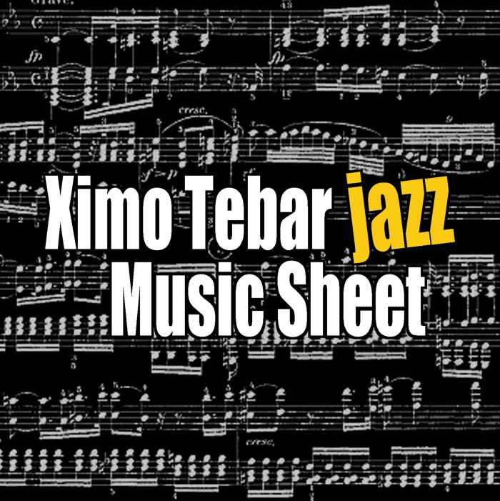 BANDCAMP-COVER-CD-XIMO-TEBAR-JAZZ-MUSIC-SHEET-BEETHOVEN