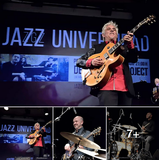 XIMO TEBAR BAND EN JAZZ ZARAGOZA UNIVERSIDAD MARZO 2019 FOTOS BY MAS MASTRAL