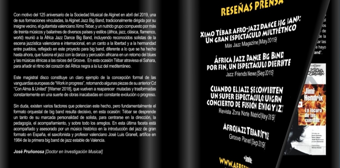 LEBRETO-BOOKLET-CD-XIMO-TEBAR-A-FREE-KAN-JAZZ-DANCE-BIG-BAND-2019