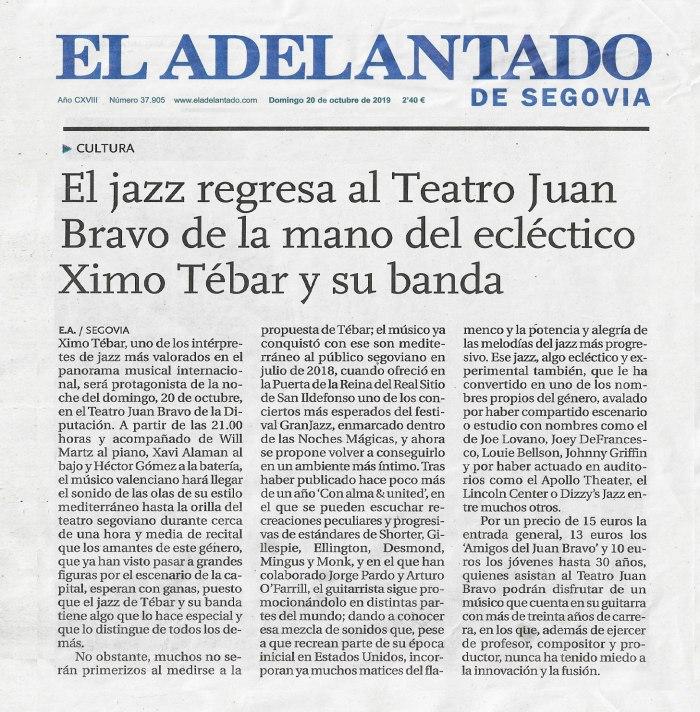 XIMO-TEBAR-BAND-TEATRO-JUAN-BRAVO-SEGOVIA-OCT-2019-EL-ADELANTADO-DE-SEGOVIA